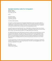 Examples Of Hardship Letters For Immigration For A Friend Fresh