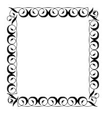 decorative borders borders and frames decorative arts ornament