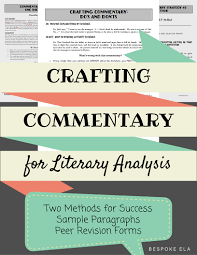 writing commentary is undoubtedly the most difficult part of writing commentary is out a doubt the most difficult aspect of the literary analysis essay it is the one part for which there is no formula because