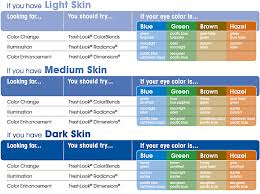Acuvue Contact Colors Chart Helpful Chart On Which Eye Color You Want Hazel Color