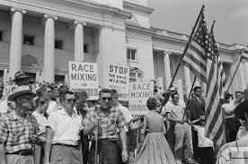 where has all the loving gone a review of the new film loving rally at state capitol protesting the integration of central high school in 1959 image