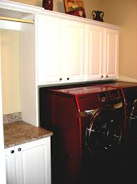 Laundry Hanging Bar Home Design Laundry Room Cabinets With Hanging Rod Deck Home