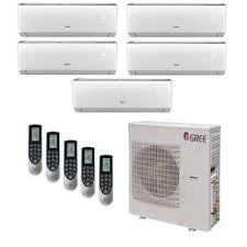 split unit ac heat. Delighful Heat Multi21 Zone 39000 BTU Ductless Mini Split Air Conditioner With Heat  Inverter And Throughout Unit Ac Heat A