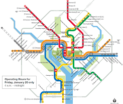 metro riders urged to plan routes for inauguration day  wtop