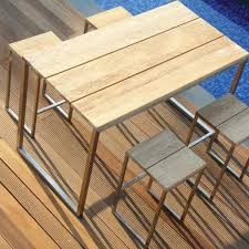 outdoor dining table bar height photo 1 balcony height patio dining furniture