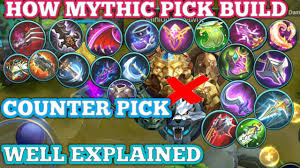 League Of Legends Counters Chart How Mythic Build Item And Newbie Dont Counter Buil 101 Mobile Legends