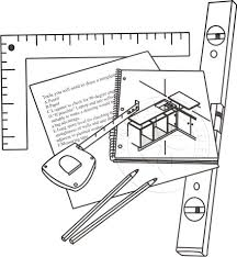 tools required to draw a worktop template
