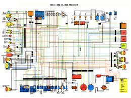 honda gl1100 aspencade gl1100 standard 1980 1982 color schematic diagram 620 kb