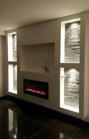 modern gypsum tv wall unit decoration