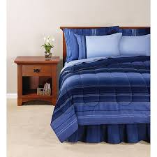 mainstays ombre bed in a bag bedding