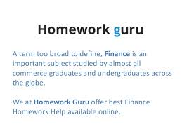 finance homework help online tutoring homework help exam preparations 2