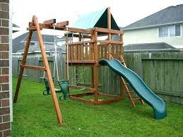 wooden swing set plans wooden swing set plans large swing sets swing set plans wood fort