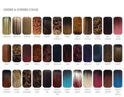 Zury Sis Color Chart Zury Sis Color Chart