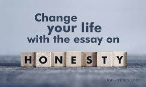 change your life the essay on honesty