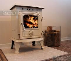 hendon 4 5kw cream enamel stoves woodburning multifuel