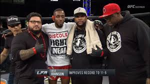 """Volkman on Twitter: """".@mmawizzard and I told you. Jose Johnson is a killer.  He is WAY better than his record. #Hellbow #LFA78… """""""
