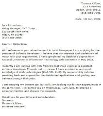 Programmer Cover Letter Examples Cover Letter Now