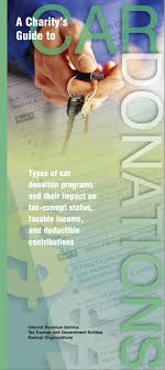 IRS Publication 4303: A Donor's Guide to Car Donations