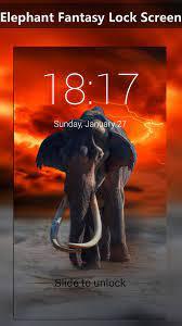Elephant Fantasy Lock Screen ...