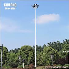 High Mast Lighting Manufacturers China 30m Solar Street High Mast Lighting Pole Drawing