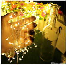Battery Operated Halloween Mini Lights 2018 New Arrival Waterproof Led String Light Battery Operated Fairy Lights For Christmas Halloween Holiday Mini Copper Wire Led Strings Led String