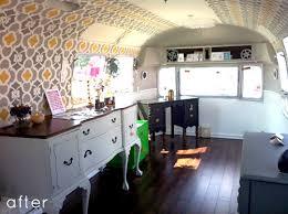 Airstream Interior Design Painting New Decoration