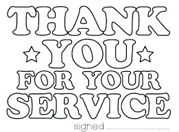 Printable Coloring Thank You Cards Free Printable Veterans Day Thank ...