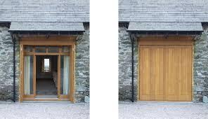 Barn Conversion, Troutbeck. Oak Shutter Doors