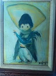 how much this degrazia oil painting is worth show more show less ask your own antiques question imag0496 jpg