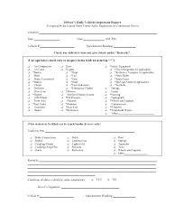 Van Checklist Template Vehicle Inspection Van Check Sheet
