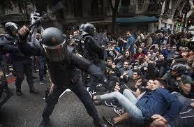 Resultat d'imatges de repressió 1 d'octubre