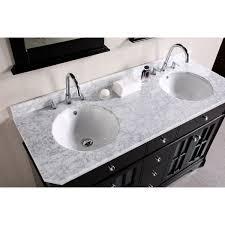 double vanity with top. 48 Inch Double Sink Bathroom Vanity HomesFeed Regarding Inspirations With Top Plan 14 O
