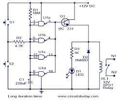 long duration timer circuit electronic circuits and diagram long duration timer circuit jpg