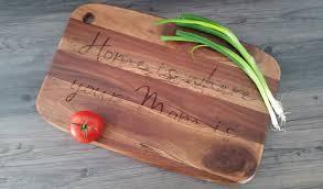 mom s kitchen acacia cutting board