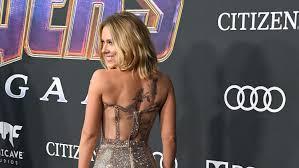 Scarlett Johanssons Huge Tattoo Stuns At Avengers Endgame Premiere