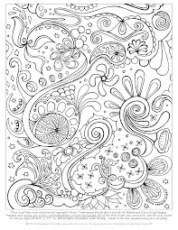 This Free Abstract Coloring Page Is