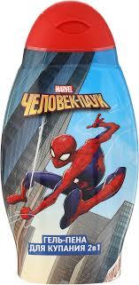 """Spider-Man <b>Гель</b>-<b>пена для ванны</b> 2в1 """"Double effect"""", детский, 400 ..."""