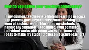 teacher interview questions and answers image information christian