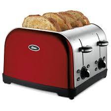 red 4 slice toaster kitchenaid artisan kmt423 empire dualit newgen apple candy
