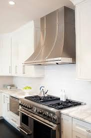 stainless steel kitchen hood. Stainless Steel French Kitchen Hood With Rivet Straps E