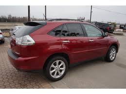 lexus 2014 rx 350 red. lexus rx 350 2009 red suv 6 cylinders automatic 77546 2014