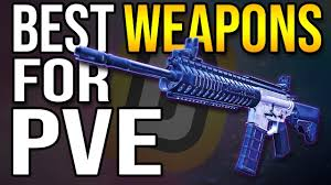 Best PVE Weapons The Division 2 - YouTube