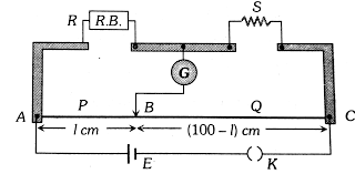 a) State the working principle of a meter bridge used to measure an unknown  resistance. (b) Give reason: (i) why the connections between the resistors  in a meter bridge are made of