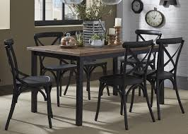 vintage dining room chairs. Liberty Furniture Vintage Dining Series 5-Piece Pub Table And Bar Stool Set | Wayside Sets Room Chairs