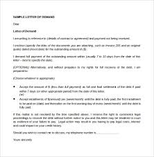Payment History Letter Template 10 Day Demand Letter Sample