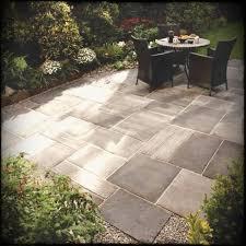 stone patio cost flagstone installation patios ideas backyard design per ton square foot cost of