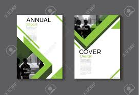 Free Book Cover Design Green Cover Design Modern Book Cover Abstract Brochure Cover