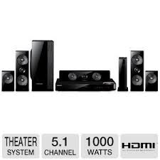 wireless home sound system. samsung 5.1 channel 1000 watts wireless surround sound 3d blu-ray home theater system o