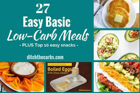 Easy Basic Low Carb Meals The Easy Way To Stay Low Carb
