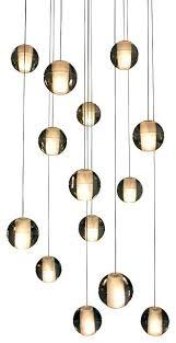 hanging glass chandelier light floating glass globe led chandelier contemporary regarding brilliant residence glass